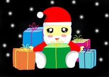 Natal de Chibi Fotografia de Stock Royalty Free