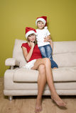 Natal de espera Fotografia de Stock