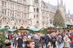 Natal de Munich justo Foto de Stock
