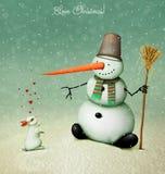 Natal do amor ilustração royalty free