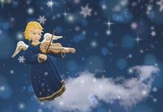 Natal do anjo Imagens de Stock