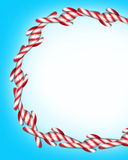 Natal do bastão de doces ilustração do vetor