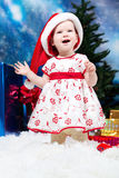 Natal do bebê imagem de stock
