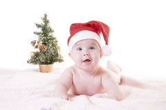 Natal do bebê Fotografia de Stock Royalty Free