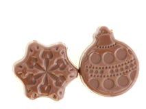 Natal do chocolate Fotos de Stock