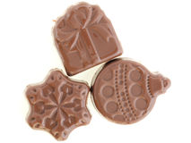 Natal do chocolate Foto de Stock Royalty Free