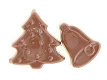 Natal do chocolate Fotografia de Stock