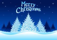 Natal do inverno! Fotos de Stock