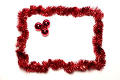 Natal do quadro Fotos de Stock