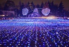 Natal do Tóquio imagem de stock royalty free