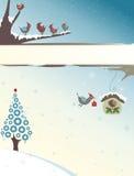 Natal dos pássaros Fotografia de Stock Royalty Free