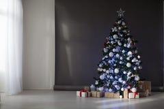 Natal dos presentes da árvore de Natal das decorações do Natal Imagem de Stock