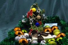 Natal e ano novo de um objeto imagem de stock royalty free