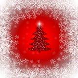 Natal e ano novo tipográficos no fundo ilustração do vetor
