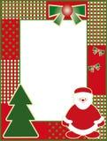 Natal e anos novos do frame da foto ilustração royalty free