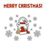 Natal e celebração do ano novo Imagens de Stock Royalty Free