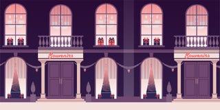 Natal e véspera de Ano Novo ilustração royalty free