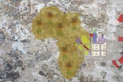 Natal em África ilustração do vetor