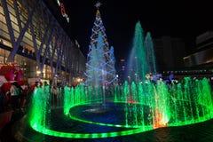 Natal em Banguecoque Foto de Stock