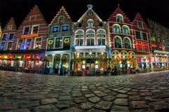 Natal em Bruges foto de stock