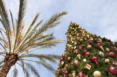 Natal em Califórnia foto de stock