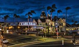 Natal em Carlsbad Fotografia de Stock Royalty Free