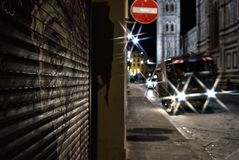 Natal em Florença III foto de stock