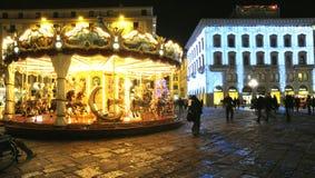 Natal em Florença 2014, Itália Fotografia de Stock