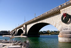 Natal em Lake Havasu, o Arizona Foto de Stock Royalty Free