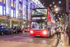 Natal em Londres foto de stock royalty free