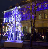 Natal em Moscovo Imagens de Stock Royalty Free