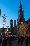 Natal em Munich Foto de Stock