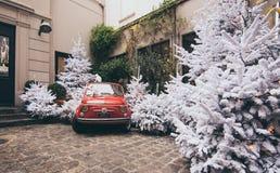 Natal em Paris Fotografia de Stock