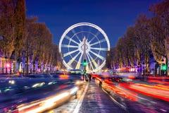 Natal em Paris imagem de stock royalty free