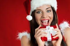 Natal feliz! Fotografia de Stock Royalty Free