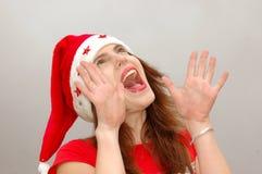 Natal feliz! Imagens de Stock