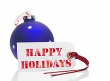 Natal feliz Imagem de Stock Royalty Free