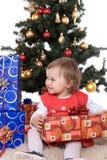 Natal feliz Imagens de Stock