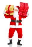 Natal feliz Santa imagem de stock