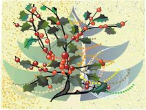 Natal floral imagem de stock royalty free