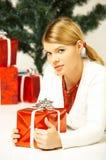 Natal Gril Foto de Stock