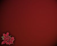 Natal Holly Background foto de stock royalty free