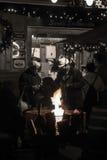 Natal justo em Eger, Hungria Fotos de Stock