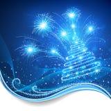 Natal mágico ilustração royalty free