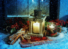 Natal mágico Foto de Stock Royalty Free