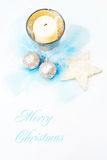 Natal macio e delicado. Imagens de Stock