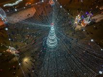 Natal Minsk, Bielorrússia foto de stock royalty free