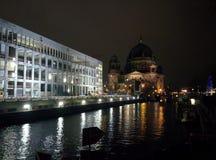 Natal MItte Berlin Germany na noite Imagens de Stock Royalty Free