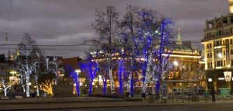 Natal Moscou Fotos de Stock