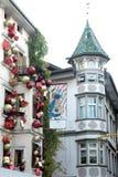 Natal na cidade Imagens de Stock Royalty Free